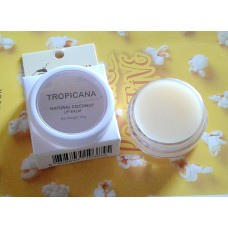Бальзамы для губ на основе кокосового масла TROPICANA.