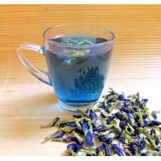 Синий чай из Тайланда АНЧАН (мотыльковый горошек) 50 гр