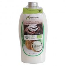Нерафинированное кокосовое масло холодного отжима Tropicana 500 мл.