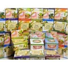 Отбеливающие зубные пасты с фруктовыми экстрактами в ассортименте 30 гр.