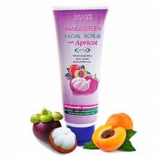 Крем-скраб для умывания с экстрактом мангостина и абрикосом ISME 100 гр.